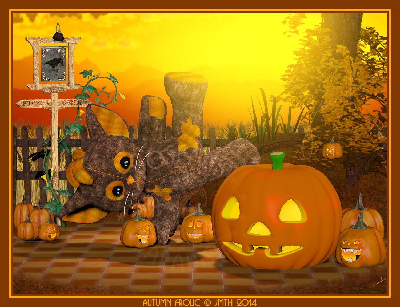 Autumn Frolic by poserfan