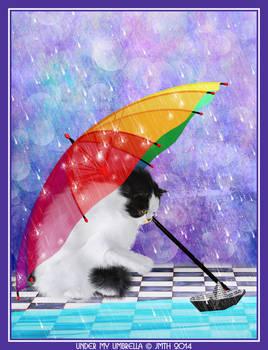 Under my umbrella....