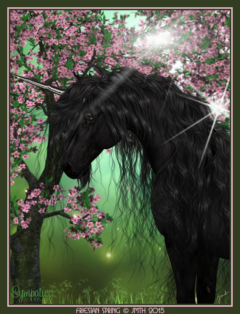 Friesian Spring by poserfan