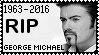 R.I.P. George Michael Stamp by poserfan