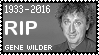 R.I.P. Gene Wilder Stamp by poserfan