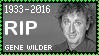 R.I.P. Gene Wilder Stamp by poserfan