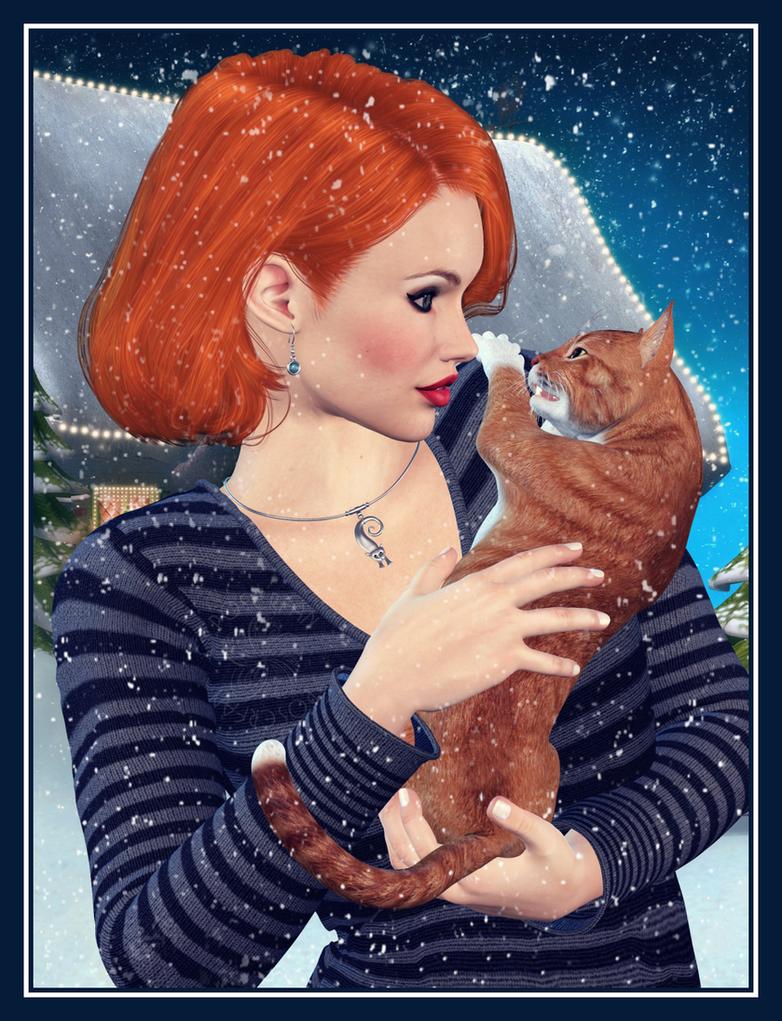 Kitty Love by poserfan