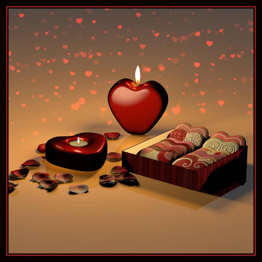 Hearts by poserfan