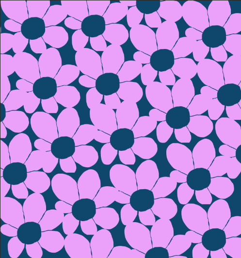 f2u flower background: pink and blue by emmbug124