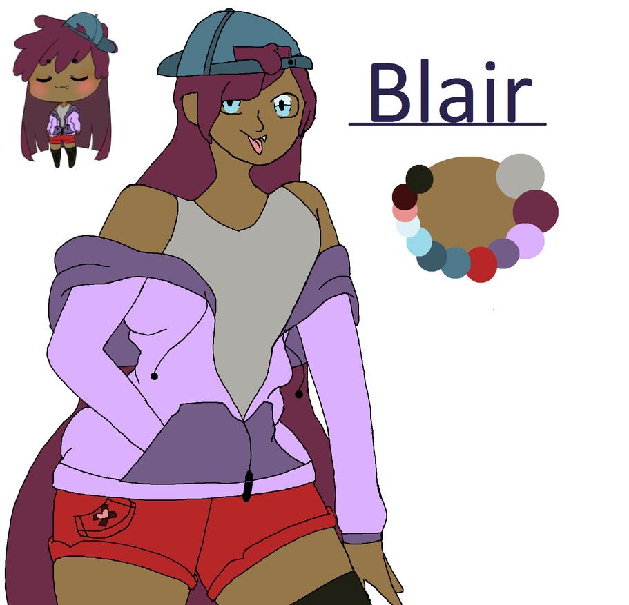Blair | Ref sheet by emmbug124