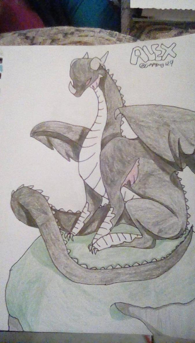 Alex dragon by emmbug124