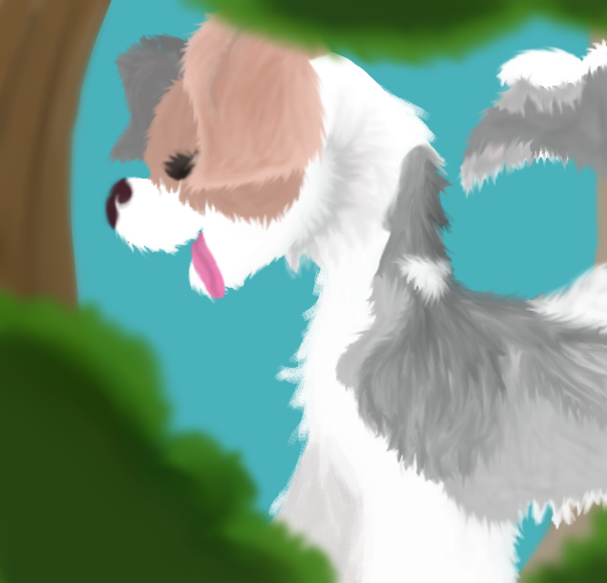 Poopy painting by emmbug124