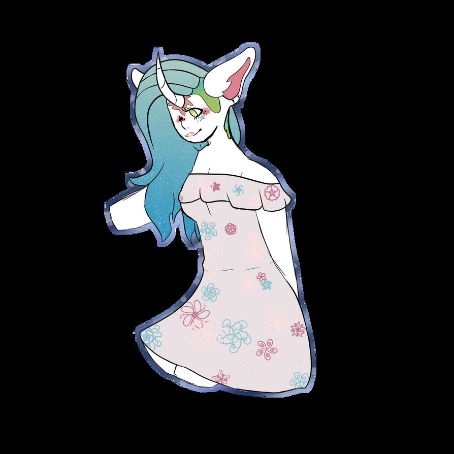 Unicorn girl by emmbug124