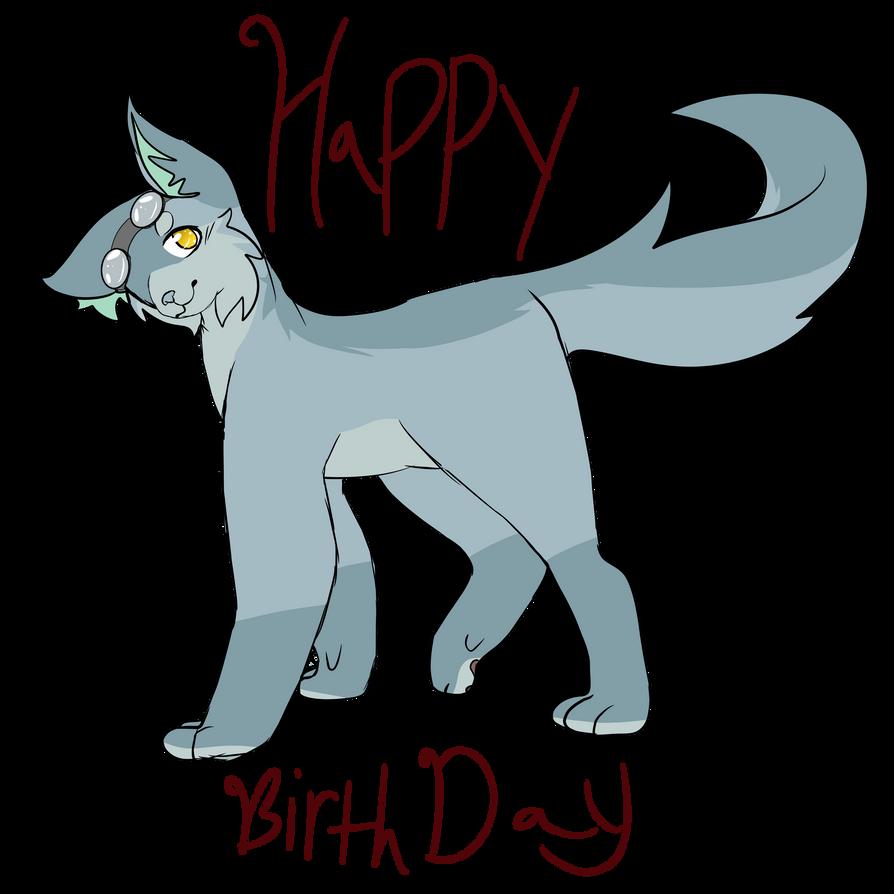 Happy b-day | redraw by emmbug124