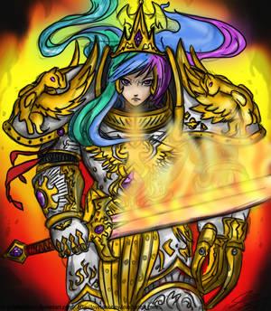 God Empress Celestia color attempt