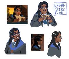Rowan - Hogwarts Mystery by urbanbirdbud