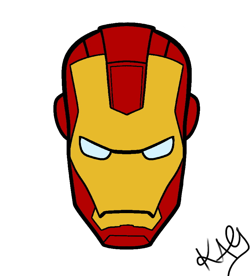 Iron Man Face Cake Ideas And Designs