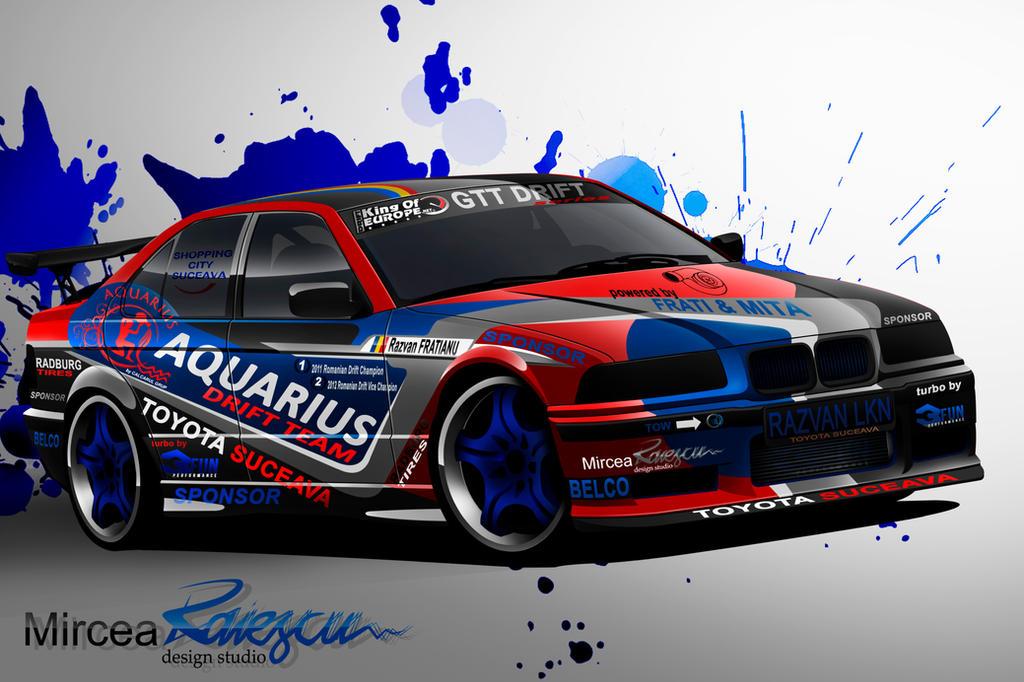 Drift Car Bmw Livery Design By Nolimitsdesign On Deviantart