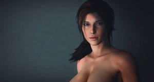 Lara Croft a portrait