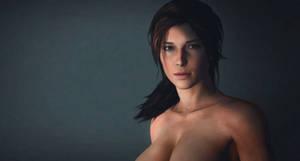 Lara Croft a portrait
