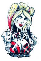 Harley sketch by ReddNekk