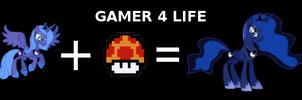 Gamer Luna by Dekiel00