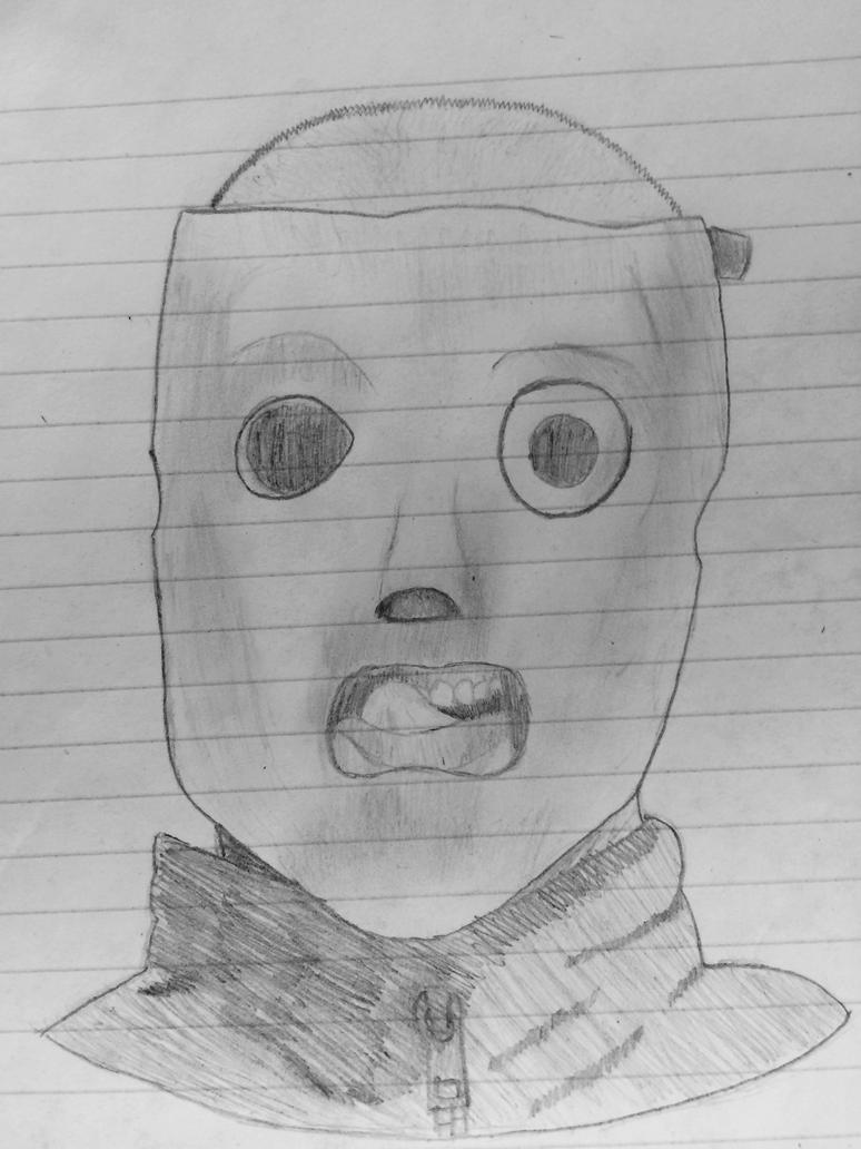 Slipknot Corey Taylor sketch by Angelwings200