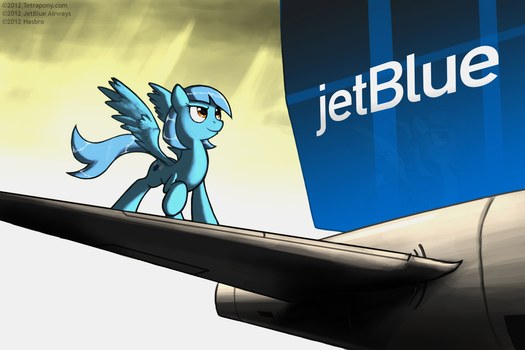jetBlue Pony Airlines by Tetrapony