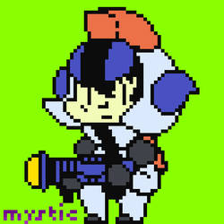 Game-Character-Design Pixel-WLines