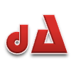 Colored dA logo by nanisplat