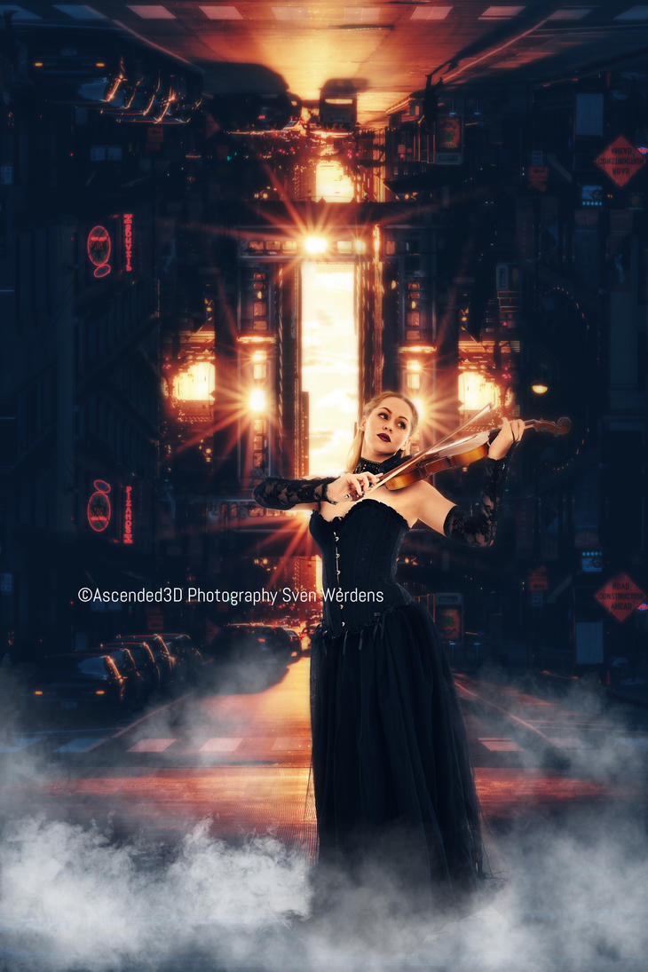 City Violin by Ascended3D