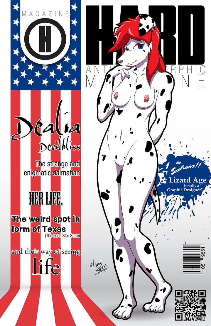 HARD Anthropomorphic Magazine #2 by CowsterHam