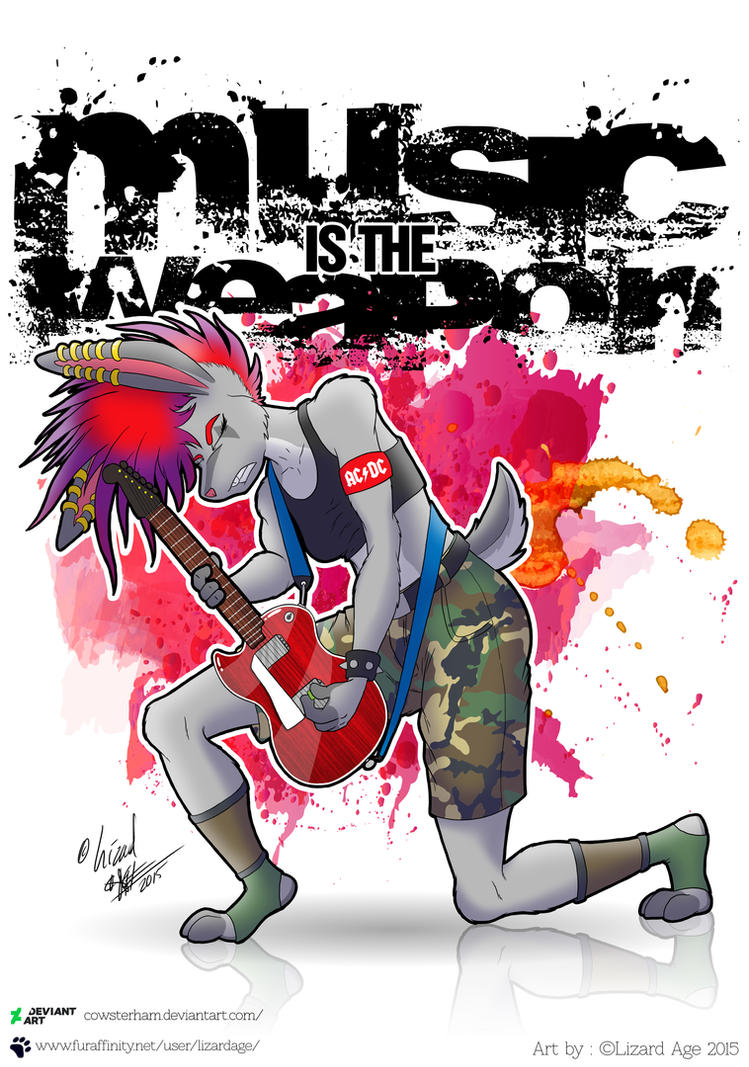 Music is the Weapon by CowsterHam