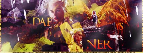 Khaleesi Daenerys Targaryen | Emilia Clarke by LeukojaPS