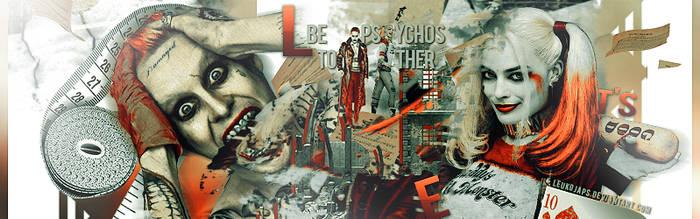 Let's Be Psychos Together | Suicide Squad | Timeli by LeukojaPS