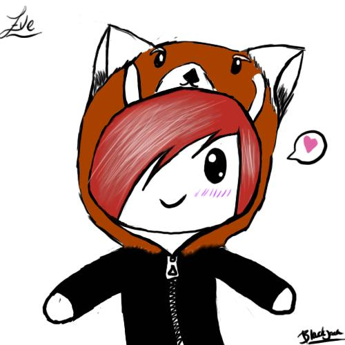 Chibi red panda - photo#27