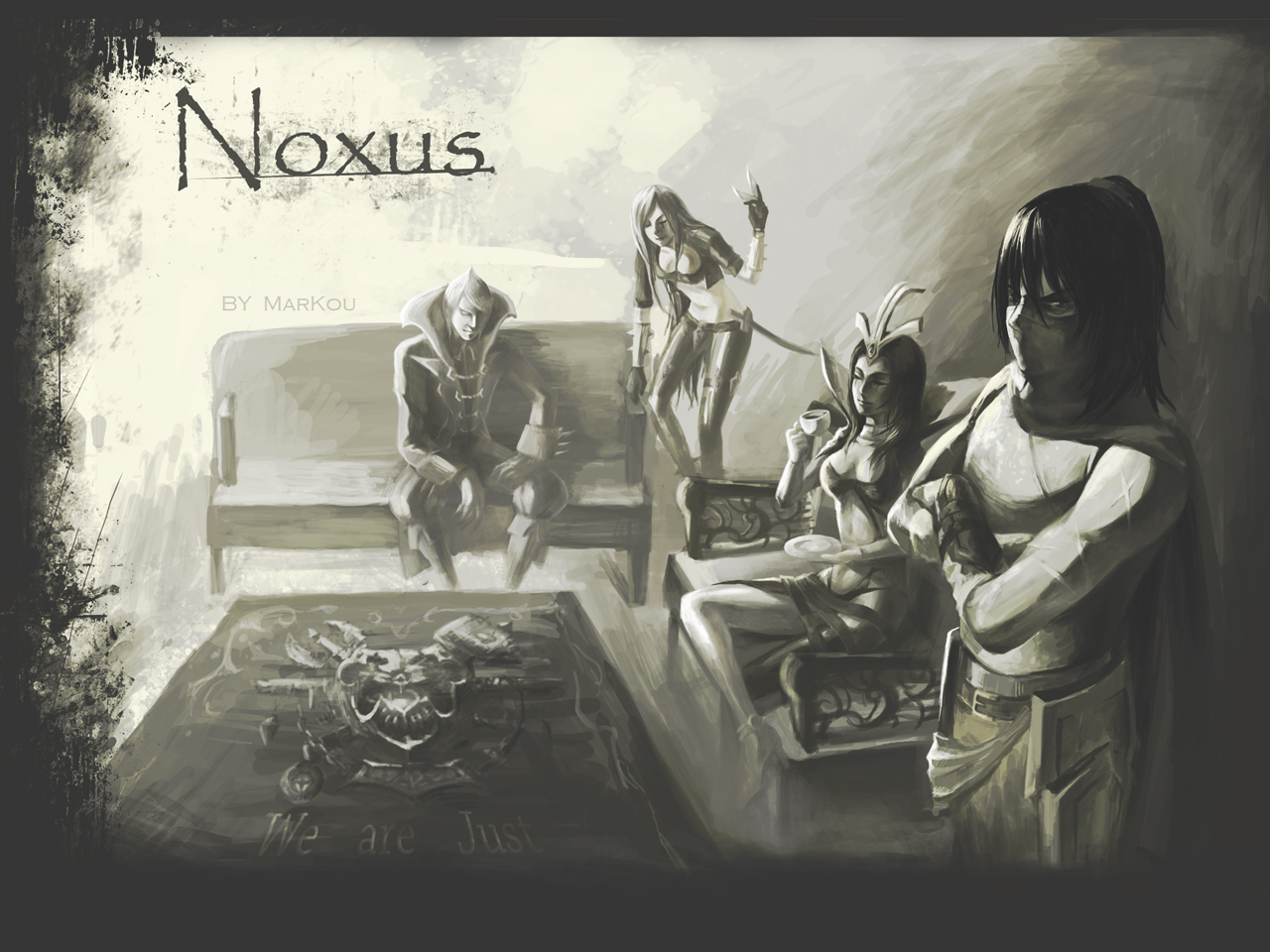 League_of_Legends - Noxus by markou000