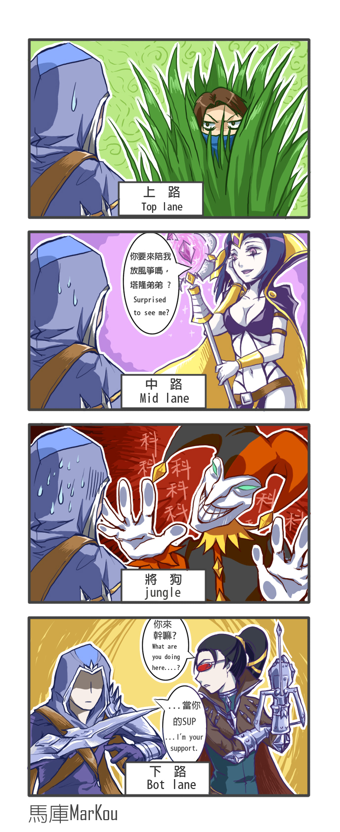 Talon's whereabouts!? by markou000