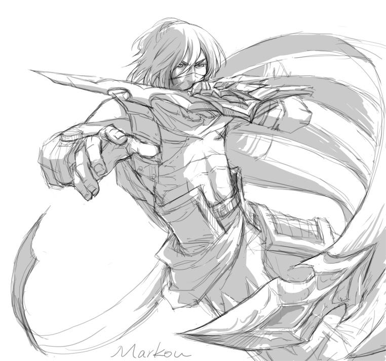 Sketch by markou000