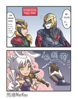 Battle Bunny by markou000