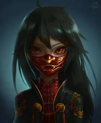 Lion God Mask