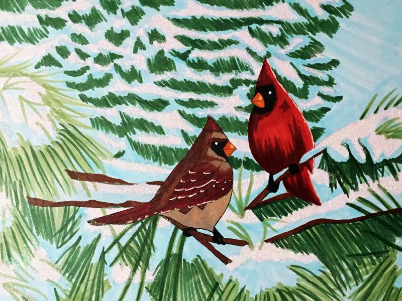 Cardinals by AkikoYukito