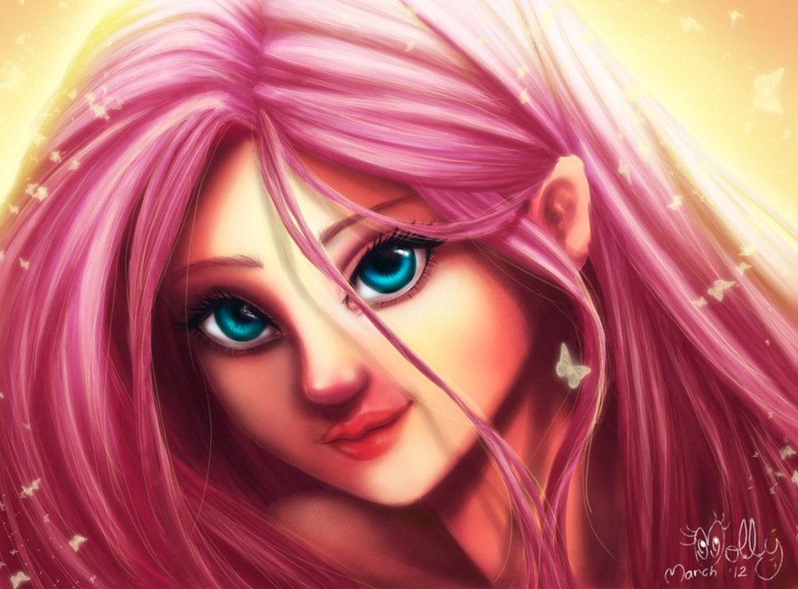 Fluttershy by ManelyMolly