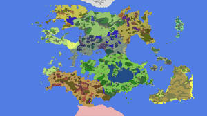 Map of New World