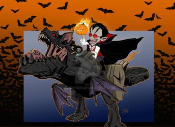 Count Iggy Von Bat-Scorch (Iggy and Scorch)