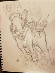 Darksiders III Rampage Sketch