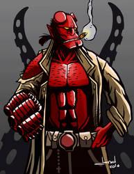 Hellboy by DandDurand