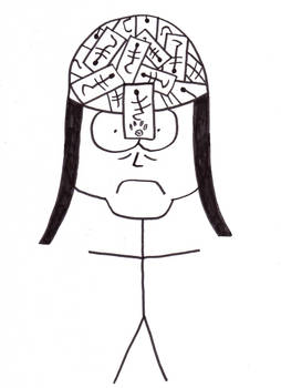 Damian Tenma caricature