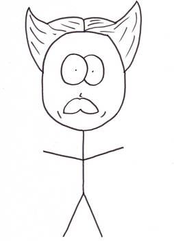 Rex Kyubi caricature