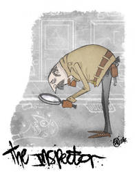 The inspector by stopmotionben