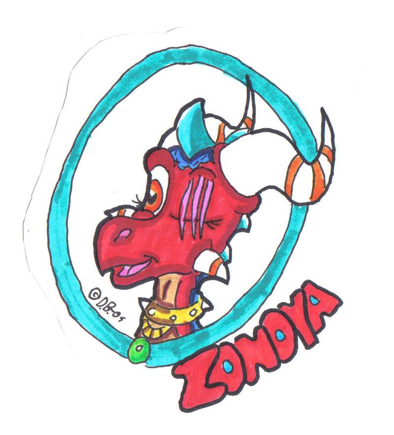Badge: Zonoya by DragonBoi471