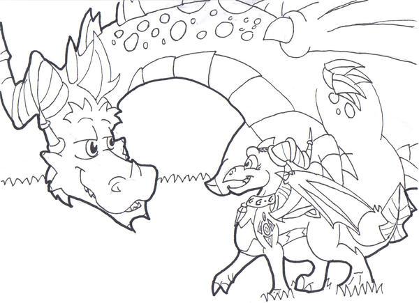 LoSZR: Hey, Dad by DragonBoi471