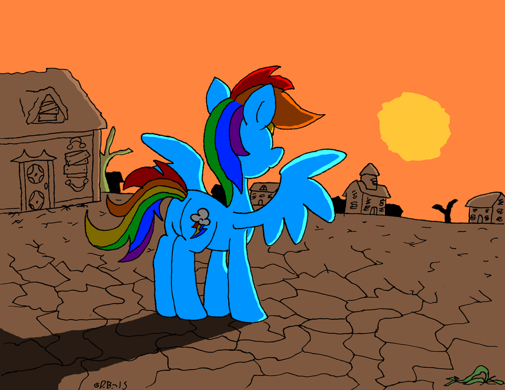 MLP: Weatherless Wasteland Colored by DragonBoi471