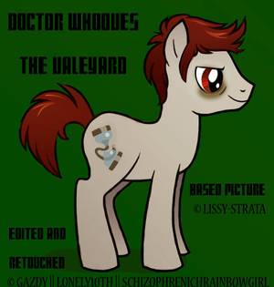 Doctor Whooves   The Valeyard (AV)